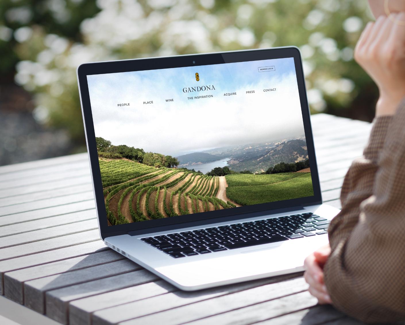 Gandona Estate Winery Website Design